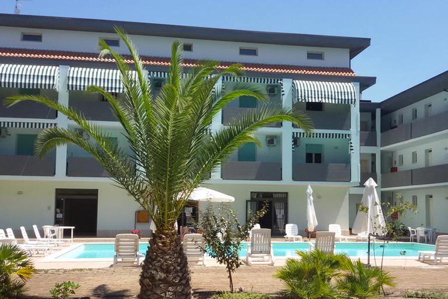 residence verde pineta principina a mare