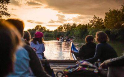 Escursioni in canoa sul fiume Ombrone