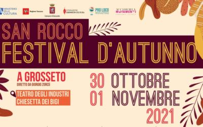 San Rocco Festival d'Autunno, dal 30 Ottobre al 1 Novembre